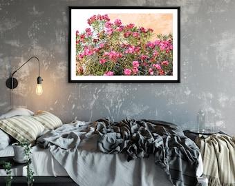Photographie Fine Art - Murs de Fleurs - Marrakech - Maroc