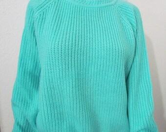 AMERICAN WEEKEND Pullover Sweater Size Medium Jumper