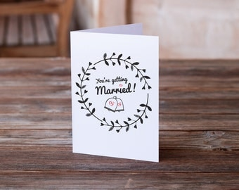 Funny Wedding Card | Wedding Humor Card | Funny Engagement Card | Card for Bride | Card for Groom | Funny Bridal Shower Card | Funny Card