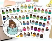 Reading Planner Stickers - Book Planner Stickers - Book Club Stickers - Library Planner Stickers - 1257 - 1258 - 1259 - 1260 - 1261