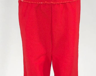 Vintage Red Overalls 3T