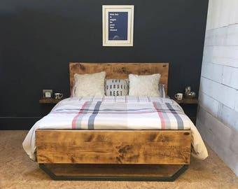 John Lewis Calia Style Bed Frame (Handmade in the UK)