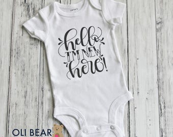 Baby Take Home Onesie, Take Home Outfit, Birth Announcement, Baby Girl Coming Home Onesie, Baby Boy Coming Home Onesie, Coming Home Outfit