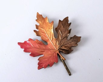 Leaf Hair Pin, Bobby pin