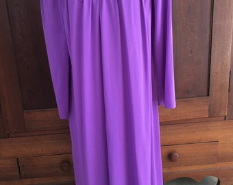 S /  Shadowline Nightgown / Vintage Purple / Small