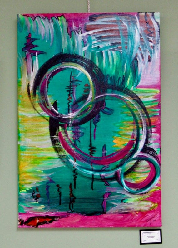 """Abstract Painting """"Circuitous"""""""