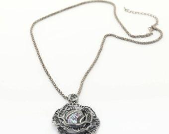 Lacquerware Necklace no.7