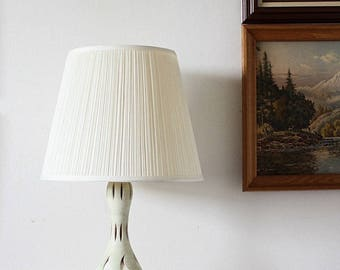 Lamp | Ceramic Lamp | Handmade Lamp Base | Southwestern Decor | Mid Century Lighting | Mid Century Decor | Accent Lamp