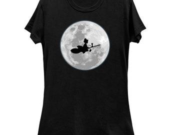 Ladies Slim Fit Kiki Fly Home T-shirt