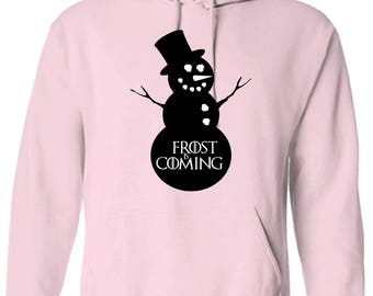 Game of Thrones Inspired Frost is Coming Hoodie