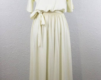 1970's Maxi Grecian Dress