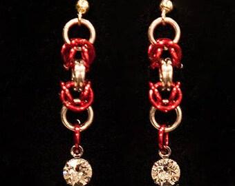 Chainmaille Dangle Earrings