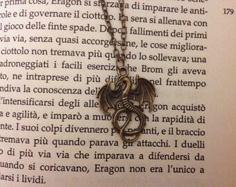 Bronze Dragon-Shaped pendant necklace