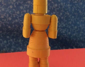 Quilled Robot