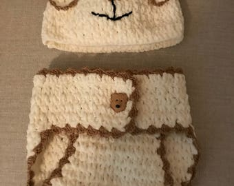 Baby Hat and Cover Set