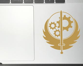 Brother Of Steel Fallout BiohoBiohock Vinyl Decals/Stickers for Car Macbook iPhone iPad