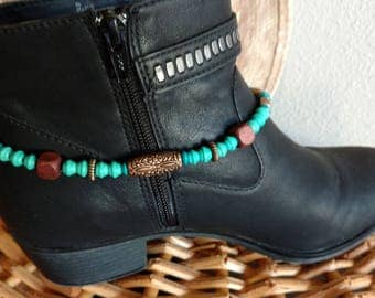 Boot Bracelet, Boot Anklet, Cowboy Boot Bracelet, Boot Jewelry, Cowgirl Jewelry, Western Jewelry, Chain Boot Anklet, Cowgirl Boot Bracelet,