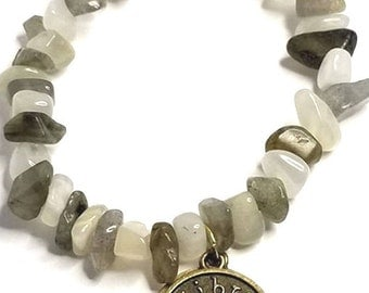 Libra & Scorpio Zodiac Cusp Bracelet
