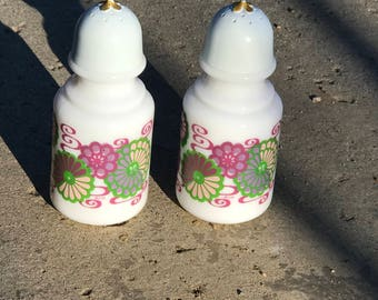 Avon vintage perfume bottle salt and pepper set