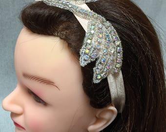 Baby Headband   Wedding Headband   Rhinestone Headband   Bridal Headband   Headpiece   Wedding Hair Accessory   Bridesmaid Accessory