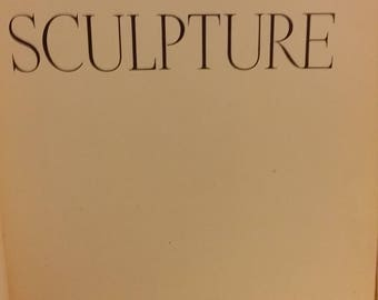 Etruscan Sculpture- vintage  hardcover book - 1941 - 1st edition- Phaidon Edition, Oxford University Press NY,  Ludwig Goldschneider