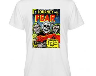 Journey Fear Retro Comic Book Cover