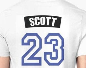 One Tree Hill Scott #23 Tshirt