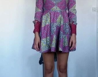 Wax dress size 34-36