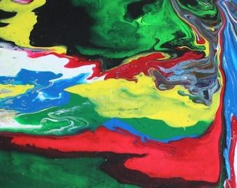 Large Acrylic Painting (Papa Bear)
