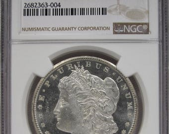 1878 CC Morgan Silver Dollar NGC MS64 Certified Coin
