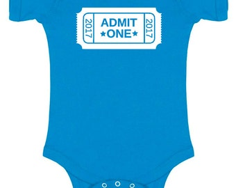 Admit One Baby Bodysuit