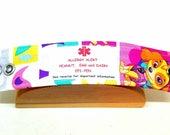 Kids Medical Alert Bracelet Child ID Bracelet Allergy Alert Clothing Autism Safety Band Skye Patrol