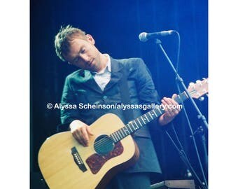 "Damon Albarn of Blur Concert Photo - 4"" x 6"""