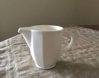 Fabulous Villeroy & Boch  white milk jug. My vintage home / white decor.