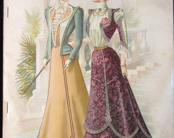 The Designer April 1899 Magazine Published By The Standard Fashion Co