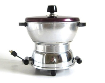 Handy Hot Popcorn Popper aluminum electric 1930s Kitchen Appliances Cat. No. 2101