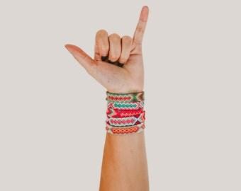 Pastel Friendship Bracelet