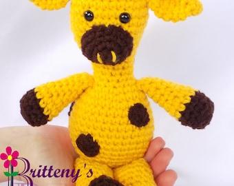 Giraffe Stuffed Animal / Giraffe Plush Toy / Crochet Giraffe Stuffed Animal / Crochet Giraffe Plush Toy / Crochet Giraffe Snuggly Pal