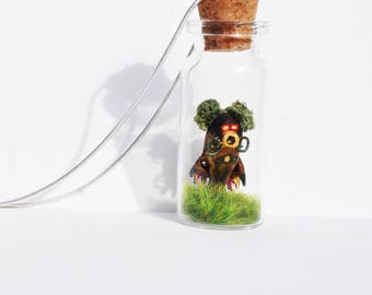Zelda Inspired Deku Butler Necklace/Keyring