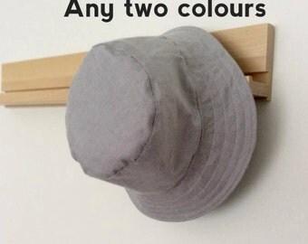 Basic Cotton Baby and Childrens Summer Bucket Hat