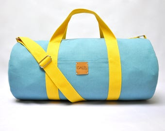 NEW duffel bag, canvas duffle bag, duffle bag, canvas bag, gym bag, overnight bag, travel bag, Made to Order