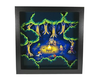 Chrono Trigger (SNES) Fiona's Forest Shadow Box