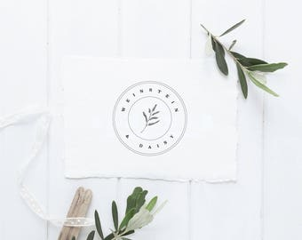 SALE - Nature Logo - Pre Made Logo - Minimalist Branding - Simple Branding - Minimal Design - Business Branding - Rustic Logo - Leaf Logo