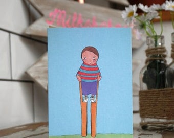 Birthday Card- Funny Card- Kids birthday-