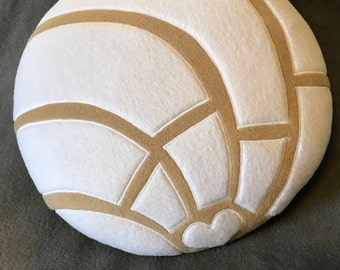 Concha Pillows - Concha Plush - Concha Cushion - Pan Dulce Pillows - Pan Dulce Decorations - Sweet Bread Pillows - Mexican Bread - Pan Dulce