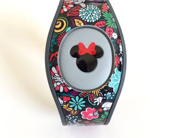 Magic Band 2.0 Wrap with Mickey or Minnie Inspired Head