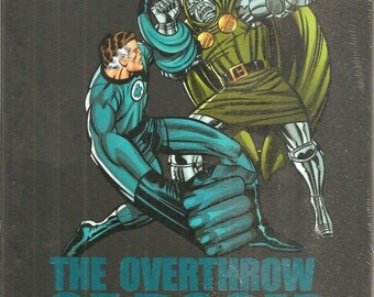 FANTASTIC FOUR ; the overthrow of Doctor Doom ; hard bound ;mint  book
