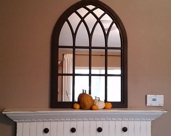"35"" Tall Strasbourg Cathedral Window Mirror"