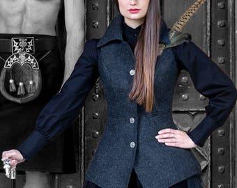 Reiver Waistcoat (Torridon Tweed)