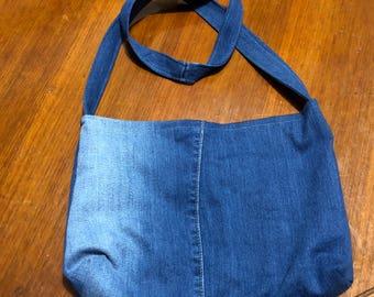 Small jean bag